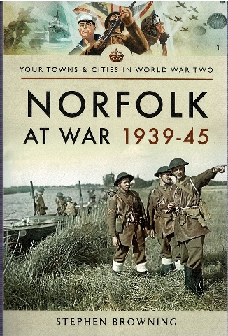 Image for Norfolk at War 1939-45