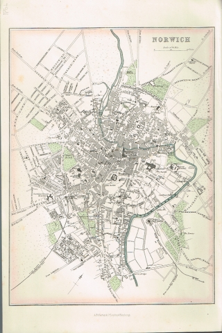 Image for Plan of Norwich