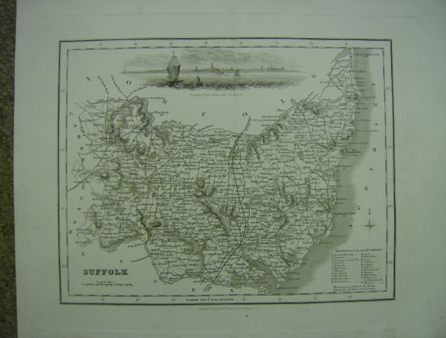 Image for Map of Suffolk