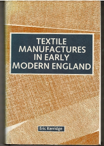 Image for Textile manufactures in early modern England