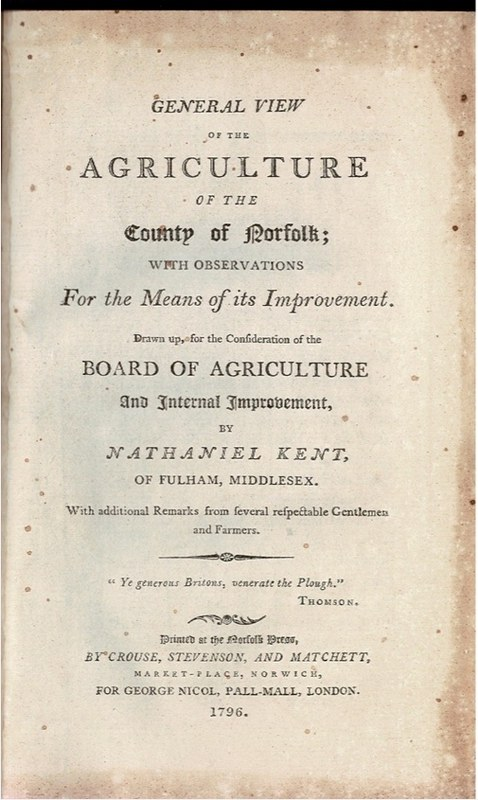 Image for General view of the Agriculture of the County of Norfolk; with observations for the means of its improvement. [...]
