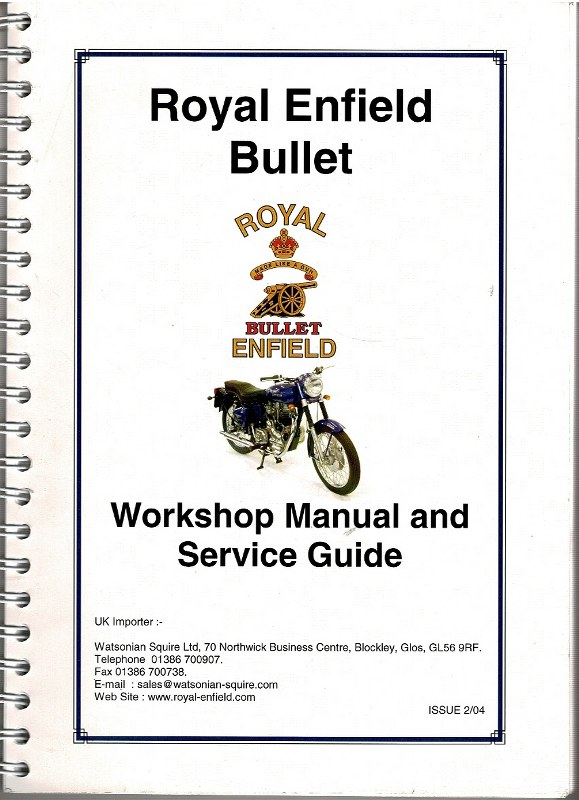 Image for Royal Enfield Bullet Workshop Manual and Service Guide