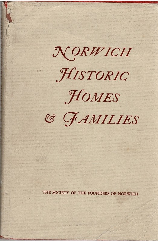 Image for Norwich Historic Homes & Families