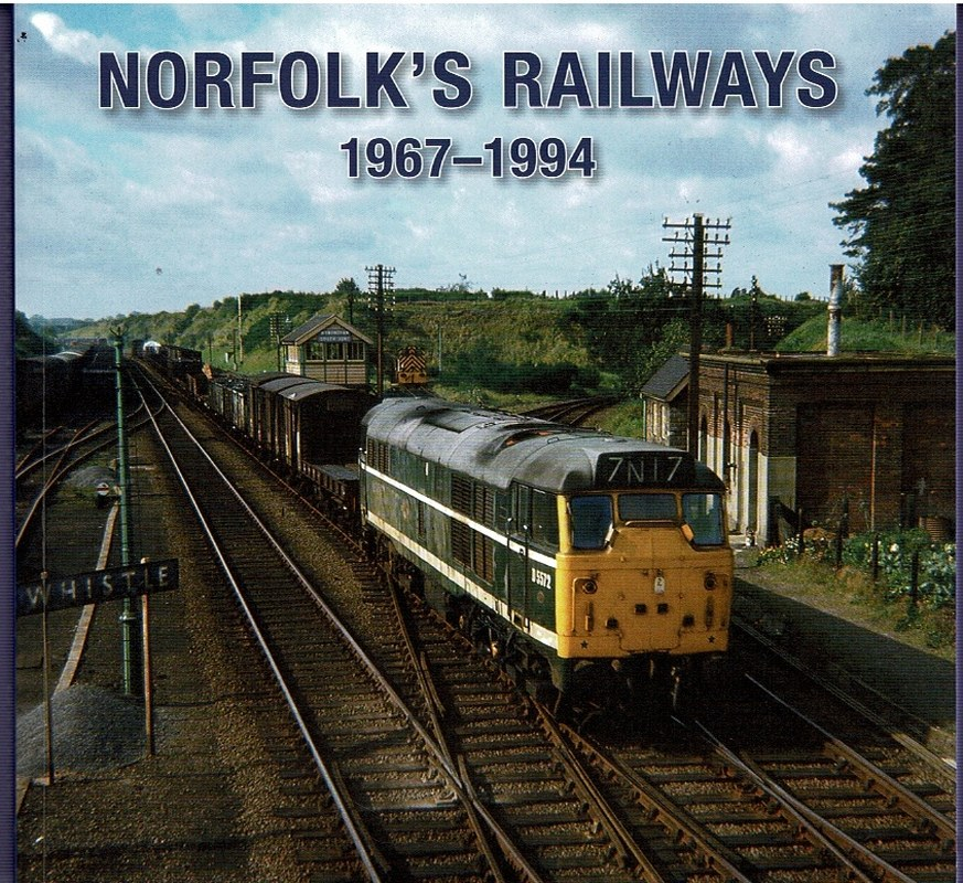 Image for Norfolk's Railways 1967-1994