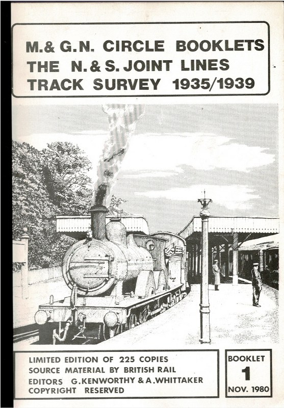 Image for The N. & S. Joint Lines Track Survey 1935/1939