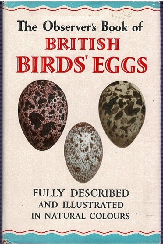 Image for The Observer's Book of British Birds' Eggs