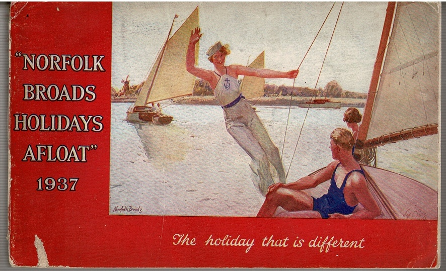"Image for ""Norfolk Broads Holidays Afloat"" 1937"