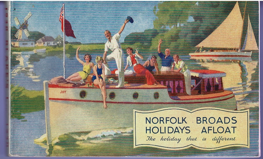 "Image for ""Norfolk Broads Holidays Afloat"" 1938"