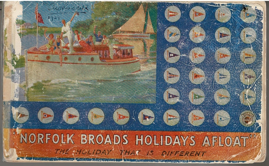 "Image for ""Norfolk Broads Holidays Afloat"" 1939"