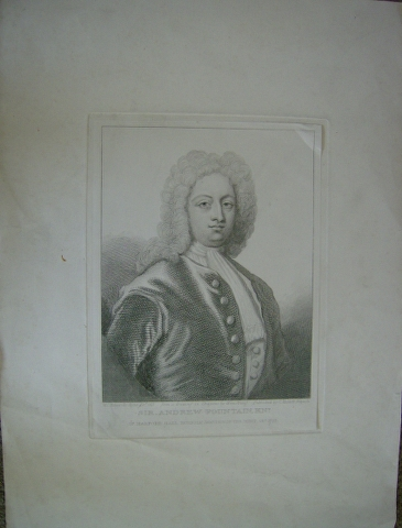 Image for Sir Andrew Fountain Knt. of Narford Hall Norfolk, Warden of the Mint, obt. 1753