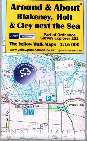 Image for Blakeney, Holt & Cley next the Sea Map (Part of Ordnance Survey Explorer 251)