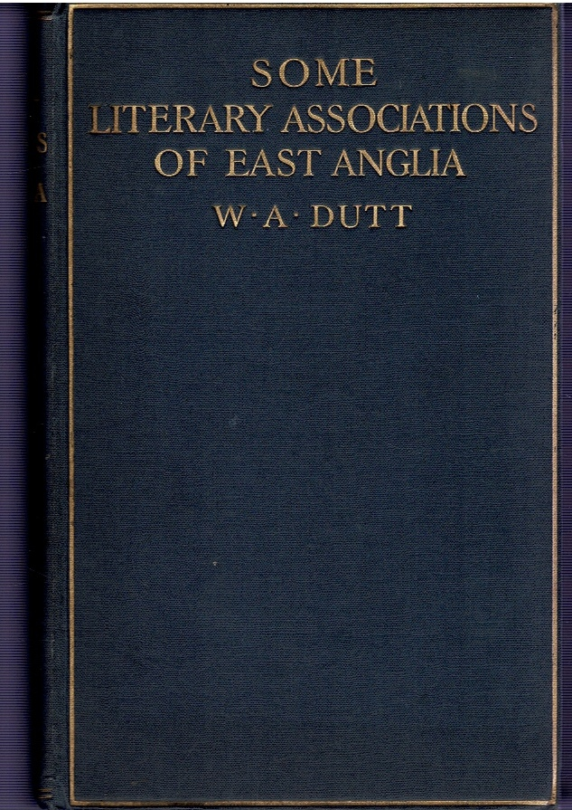 Image for Some Literary Associations of East Anglia.
