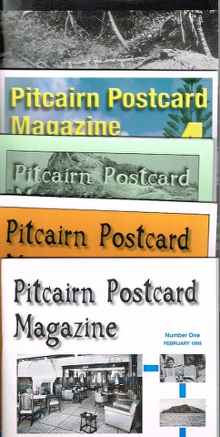 Image for Pitcairn Postcard Magazine Numbers One, Two, Three, Four and Five.